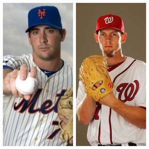 Matt Harvey and Stephen Strasburg square off for the first time