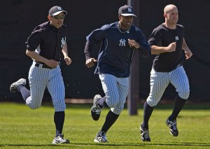 Ichiro, Granderson and Gardner will all be fighting for playing time