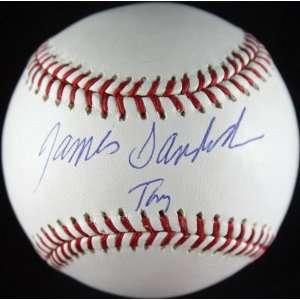 James Gandofini signed baseball