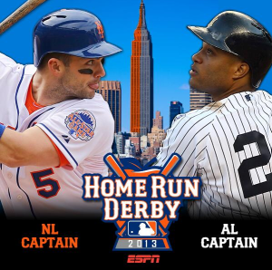 David Wright and Robinson Cano will represent New York in the Home Run Derby tonight