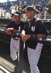 Two NY Sports Icon: Joe Namath and Derek Jeter