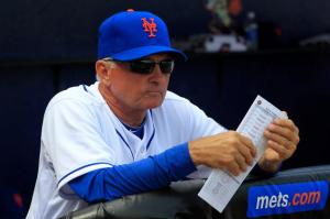Terry Collins lineup card may have the pitcher in the 8th hole at times this season
