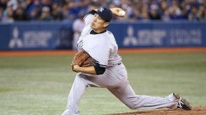 Mashiro Tanaka was impressive in his MLB debut (Photo courtesy of CBS)